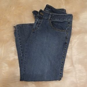 DKNY 5 Pocket Jeans with Rivets